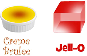Creme or Jello