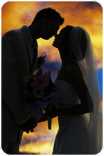 Tucson Sunset Wedding Ceremony