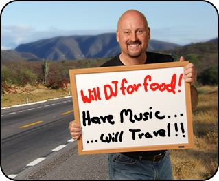 DJ in Tucson will work for food